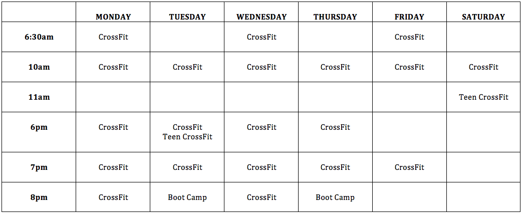 CrossFit-Athlone